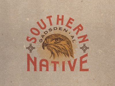Southern Native brand design branding identity design identity southern creative alabama gadsden alabama the south southern