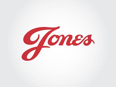 Jones typography design mississippi brand lettering logo identity