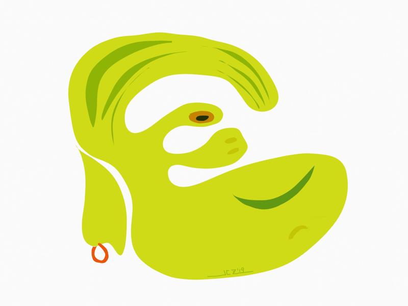"""My Name Is Greene"" (2019) mywork ipadpro3 applepencil2 procreate tayasuisketchespro digitaldoodle ipadart digitalart doodle art dimple filmstar kirkdouglas green portrait"