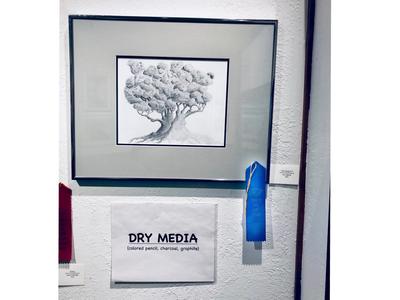 """Tree Study No. 15"" (2019)"