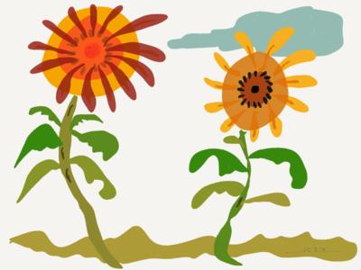 """""""Sunflowers"""" (2019)"""