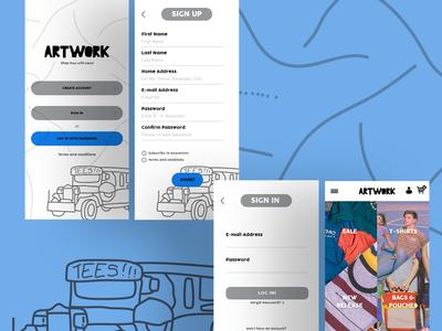 Artwork T Shirt App
