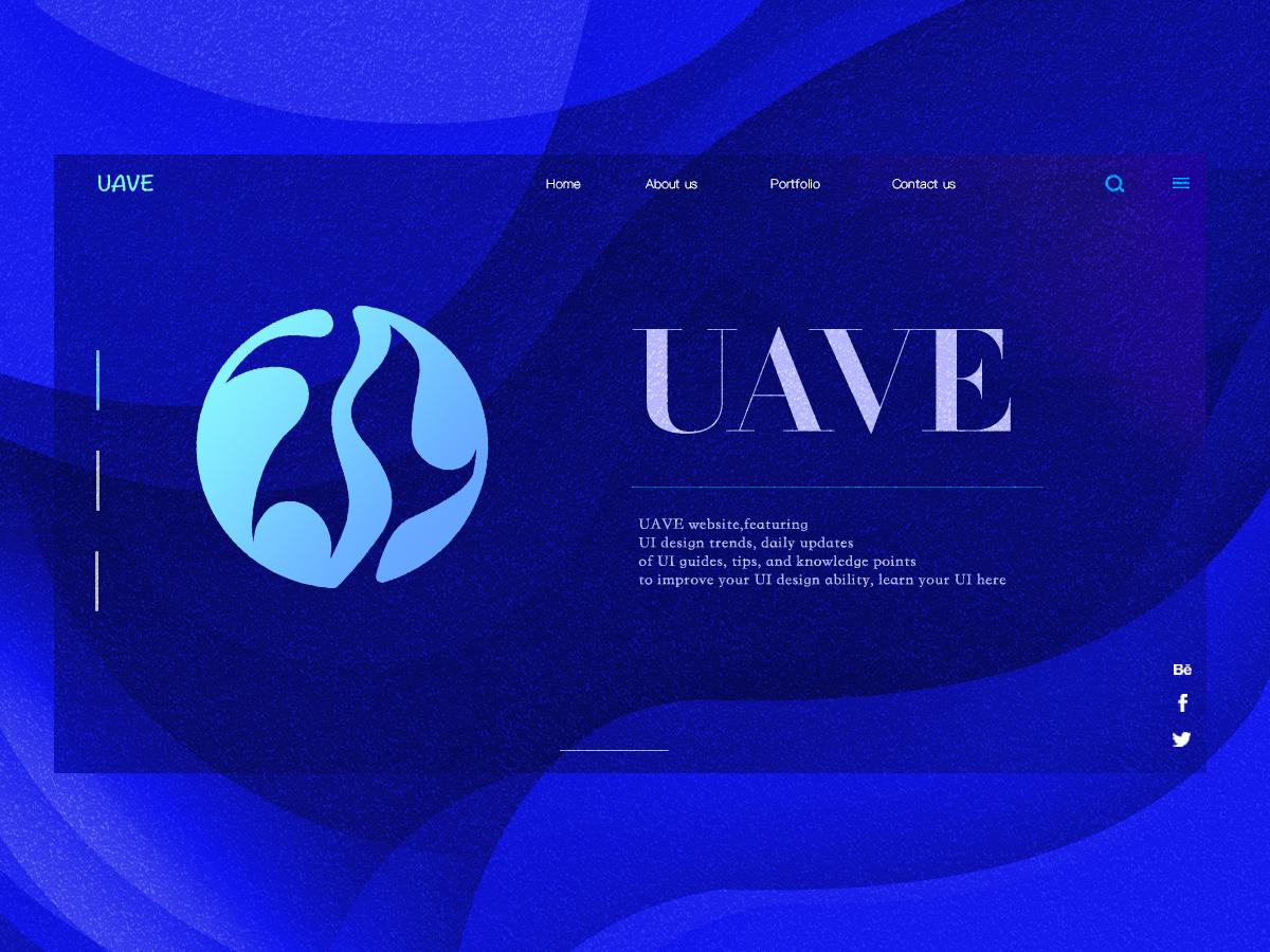 uave ui webdesign