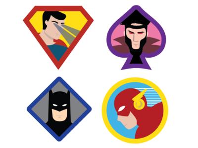 Super-Hero Badges