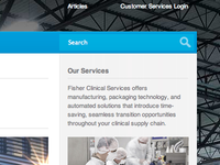 Fisher Clinical Services Re Design