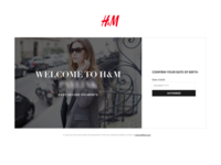H&M. Responsive White Label Payment Solution