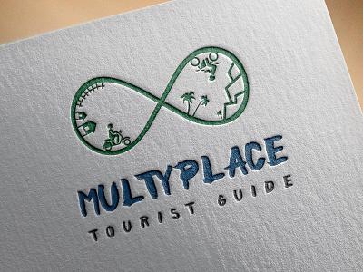 Multyplace mutdiz design logo multyplace