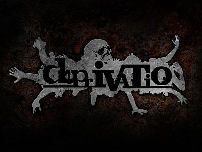 Deprivatio mutdiz design logo metal deprivatio