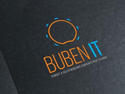 Buben IT mutdiz service design logo it buben