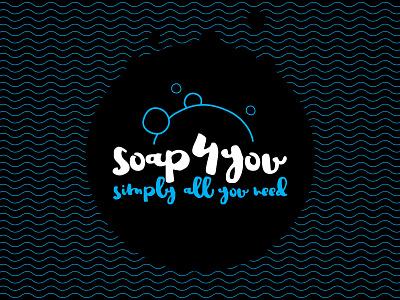 Soap4you mutdiz design logo soap4you you for 4 soap