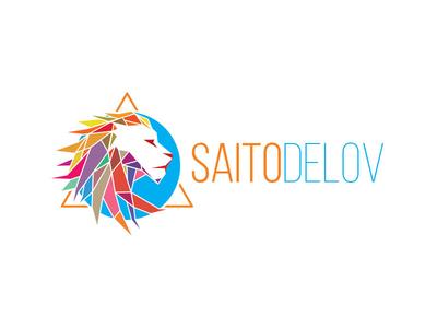 Saitodelov mutdiz design lion studio logo saitodeov