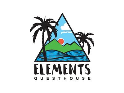 Elements mutdiz design guesthouse logotype logo elements