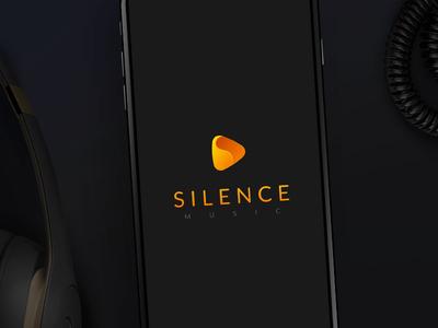 Silence Logo redesign music mutdiz design app logo silence