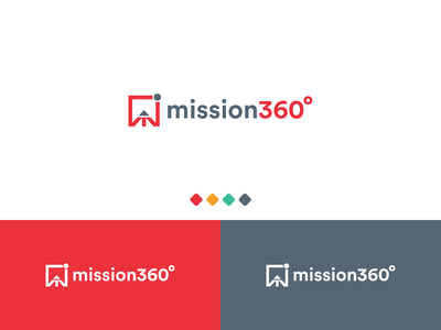 Case Study - Mission360 case study brochure business card logo design graphic design drawing design minimal typography branding logo