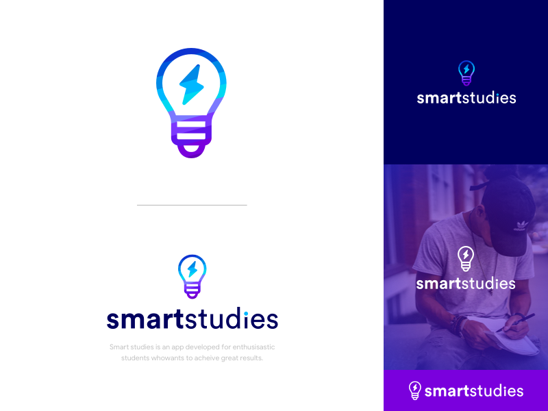 Smart studies   logo design