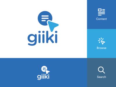 Logo Concept for Giiki