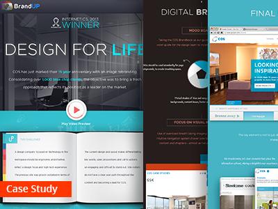 COS Case Study ui webdesign webdevelopment art direction case study user experience brand persona digital branding responsive design