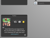 iDimension - Twitter Gadget