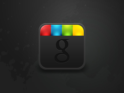 Google+ [PSD Freebie] icon google plus colors xeloader victor ingman dark freebie psd free learn glass lights