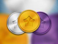 Medals PSD