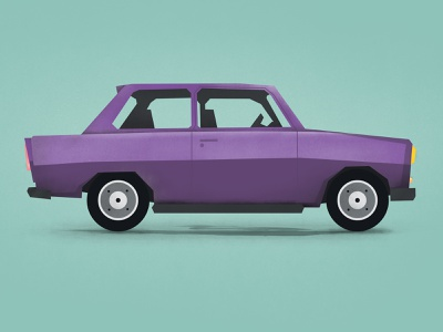 Purple Vector Oldtimer Car old vintage art abstract texture brush toka rebound photoshop illustrator vehicle car oldtimer vector purple