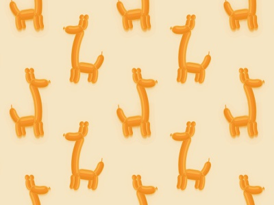 Giraffe Balloon Vector Pattern vector art illustrator toka by adrien toka geometry abstract seamless pattern pattern design pattern art pattern a day patterns vector illustration balloon giraffe