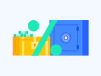 Deposit illustration
