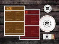 Sloppy S Food Menu Template