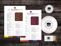 The Bacon Diet Food Menu Template