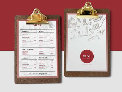 Grill Breakfast Menu Design Template menu design premium download psd