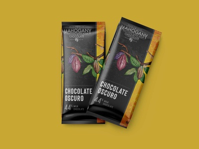 Dark Chocolate Label Mockup mockup mockups download mockup psd