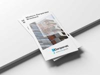 Modern Business Tri Fold Brochure  Design Template
