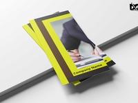 Premium Business Tri Fold Brochure  Design Template