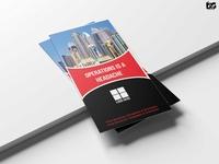 Professional Business Tri Fold Brochure  Design Template