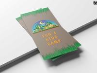 Summer Camp Tri Fold Brochure  Design Template
