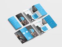 Fitness Tri Fold Brochure Design Template