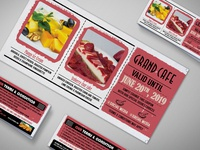 Starter Cardboard Coupon Card Design Template