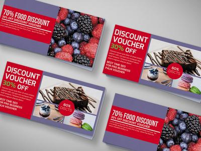 Smoothie Discount Gift Voucher Design Template