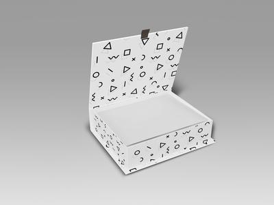 Free Premium Top Box Mockup
