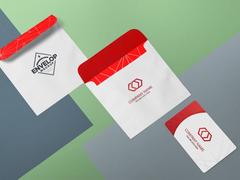 Free Invitation Card Design Presentation Mockup By Anuj