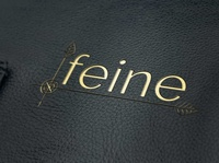 Free Embossed Leather Logo Mockup