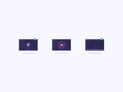 Illustrations - CSS Api Client ui flexbox offline css javascript icons web ux algolia