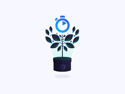 Growth & Scale Illustration algolia tree search vision culture scaling growth featured illustration blog