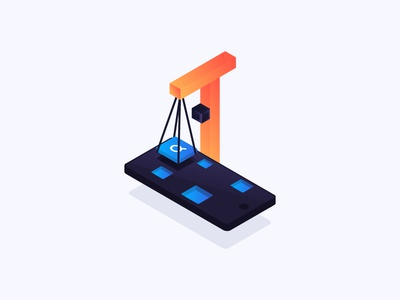 Mobile Search UX Part 2 - Deconstructing mobile search ux icons isometric content blog algolia search illustration mobile