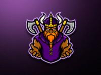 VIKING - Mascot Logo