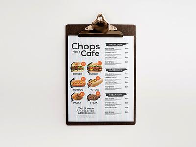 Restaurant Cafe Menu Template Design cafe menu restaurant menu