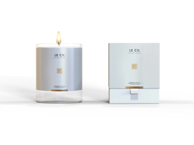 Premium Candle Packaging Mockup