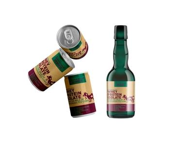 Modern Beer Label Presentation Mockup