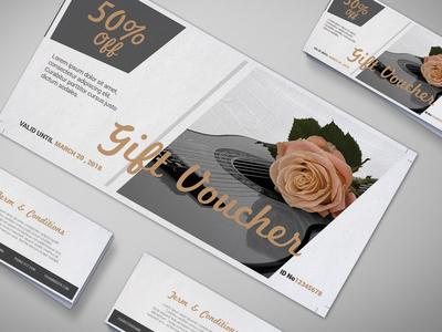 Gift Shop Gift Voucher Design Template