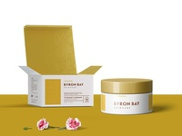 Open Box Cream Packaging Mockup